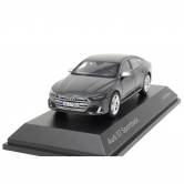 Масштабная модель Audi S7 Sportback Limited, Daytona Grey, Scale 1:43 5011817031
